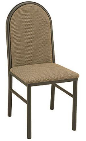 """KFI 3720P-US """"3700"""" Series Cafe Chair with Upholstered Seat: Without Arms"""