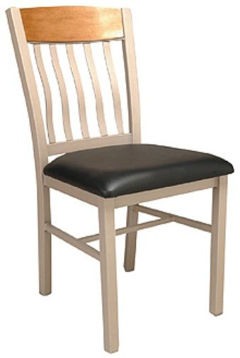 """KFI 3990C-WS """"3900"""" Series Chairs with Wood Seat: Without Arms"""