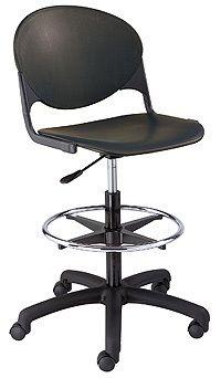 "KFI ""2000"" Series Task Chair with Drafting Stool"
