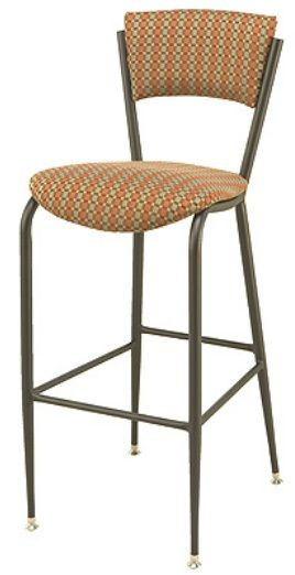 """KFI BR3818P-WS """"3800"""" Series Cafe Chairs with Wood Seat: Without Arms"""