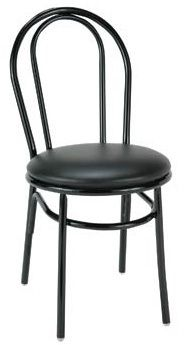 """KFI 3210 """"3200"""" Series Cafe Chair with Upholstered Seat"""