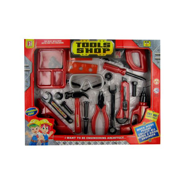 Kids' Tool Shop Play Set