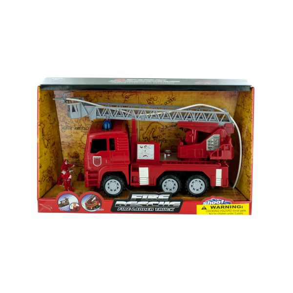 Fire Rescue Truck With Water Hose
