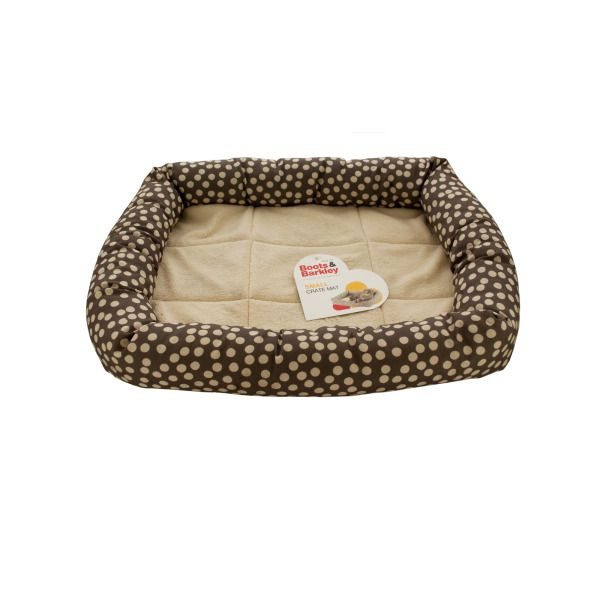 Small Polka Dot Crate Mat/pet Bed, Pack Of 2