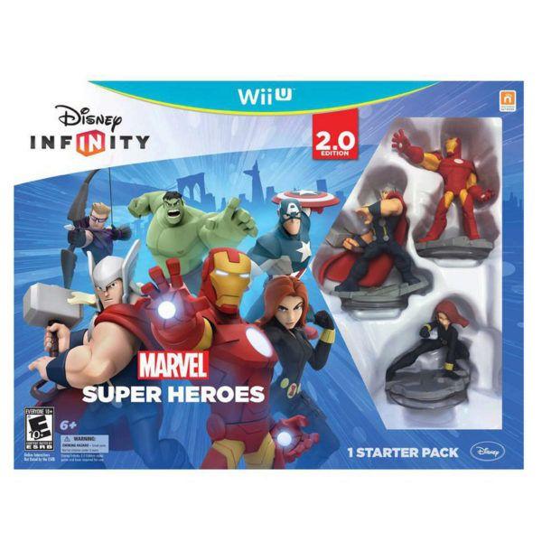 Disney Infinity 2.0 Marvel Superheroes Starter Pack, Pack Of 2