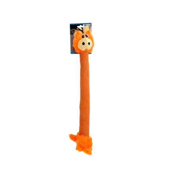 Long Body Giraffe Plush Dog Toy