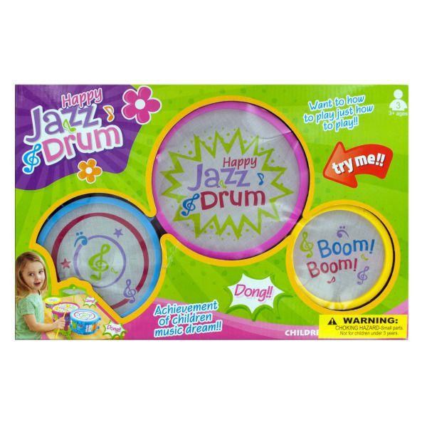 Kids Happy Jazz Drum Set, Pack Of 2