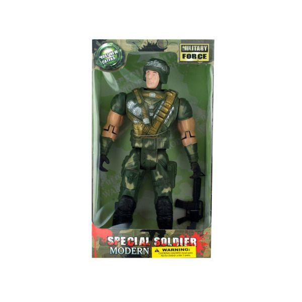 Toy Soldier Doll 2 Asst, Pack Of 2
