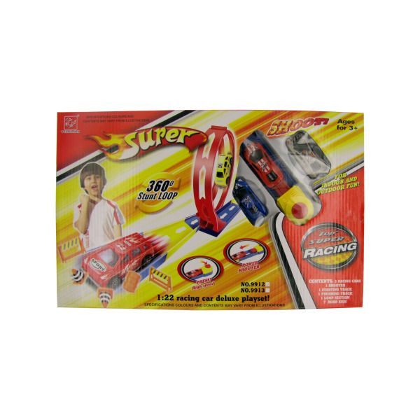 Super Shooter Race Car Play Set, Pack Of 2