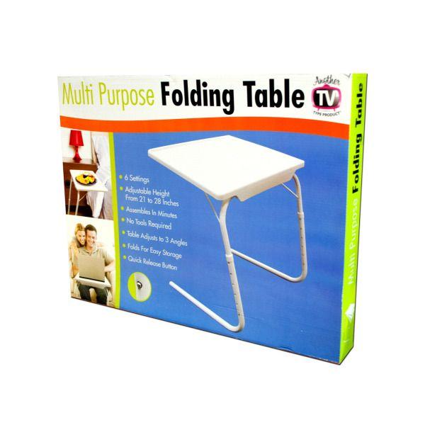 Multi-Purpose Folding Table