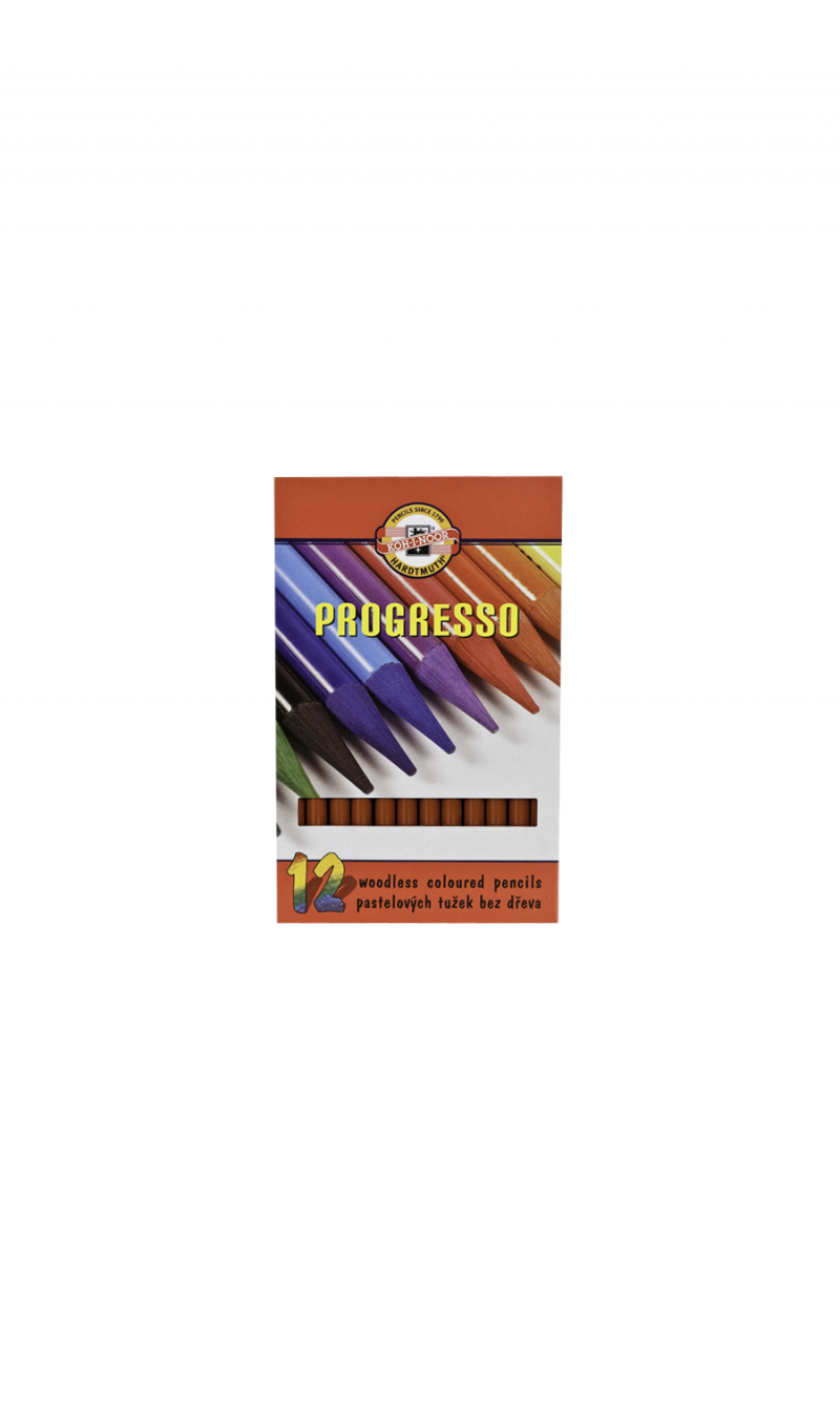 Woodless Colored Pencil Burnt Sienna