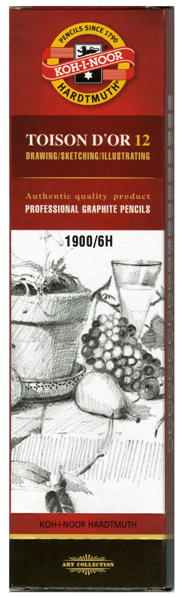 Toison D'or Graphite Pencil 6h