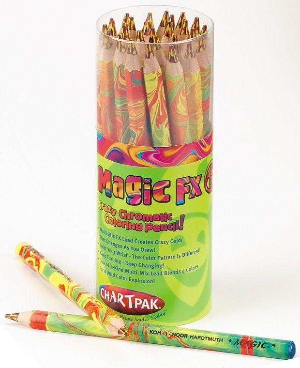 Magic Fx Pencil, Fire Lead, Multi-Colored Lacquer, 30 Piece Tube