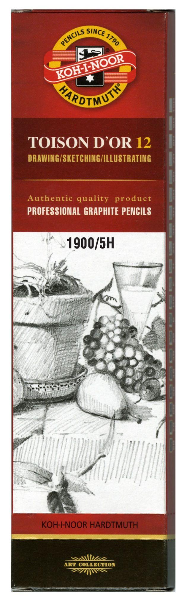 Toison D'or Graphite Pencil 5h