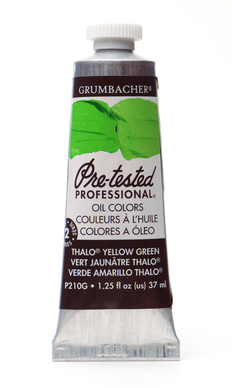 Pre-Tested® Oil Thalo® Yellow Green 37 Ml