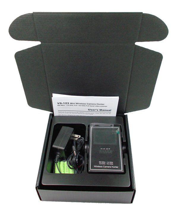 Camera Hunter Wireless Camera Detector - Dd9005