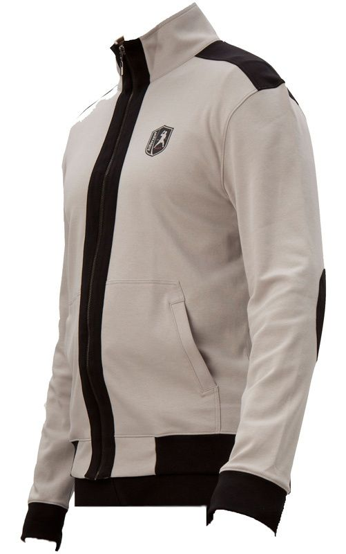 Killerspin BedRLook Jacket: Grey/Black, Medium