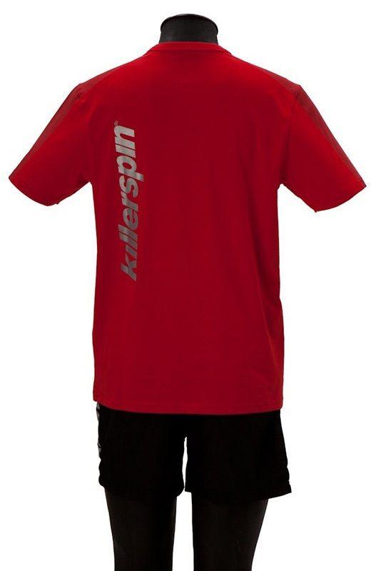 Killerspin Grate Shirt: Red/Grey, Small