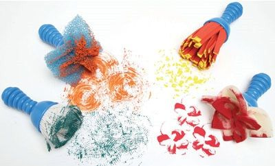 Ready 2 Learn Textured Art Tools - Set 1 - Set Of 4