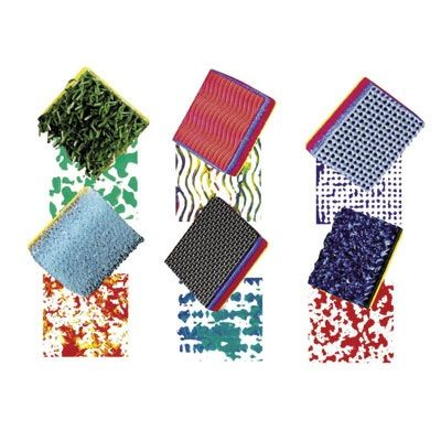 Ready 2 Learn Textured Stampers - Set Of 6
