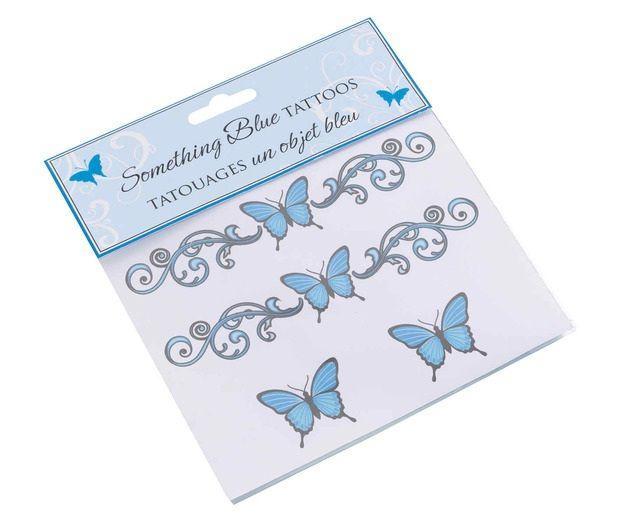 Something Blue Bride Tattoos