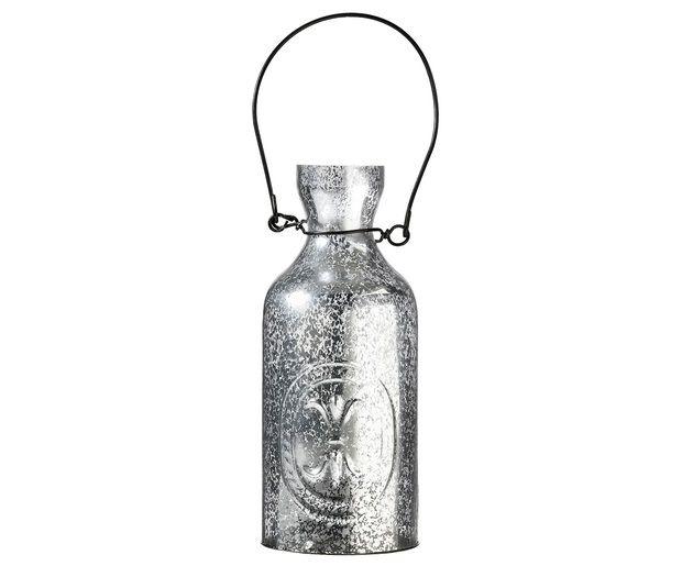 Hanging Silver Tealight Holder