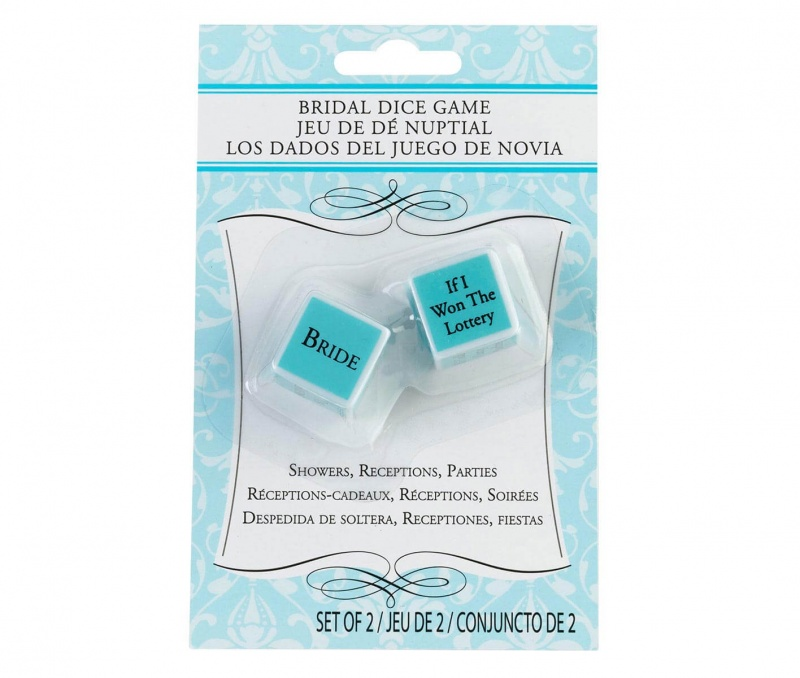 Bridal Shower Party Game Dice