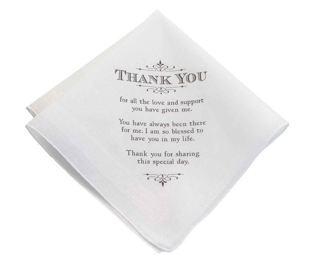 Men's Thank You Keepsake Hankie
