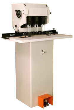 Lassco-Wizer Paper Drill: 3 Spindle, Moveable Heads and Hydraulic