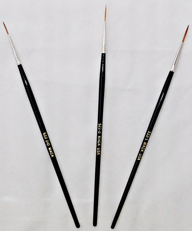 Red Sable Liners (522)