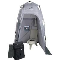 Clean Waste Portable Toilet System With Carry Case