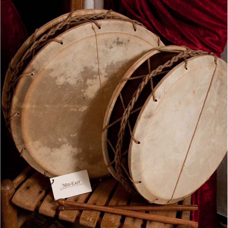 "Ems Tabor Drum W/ Sticks 12"""