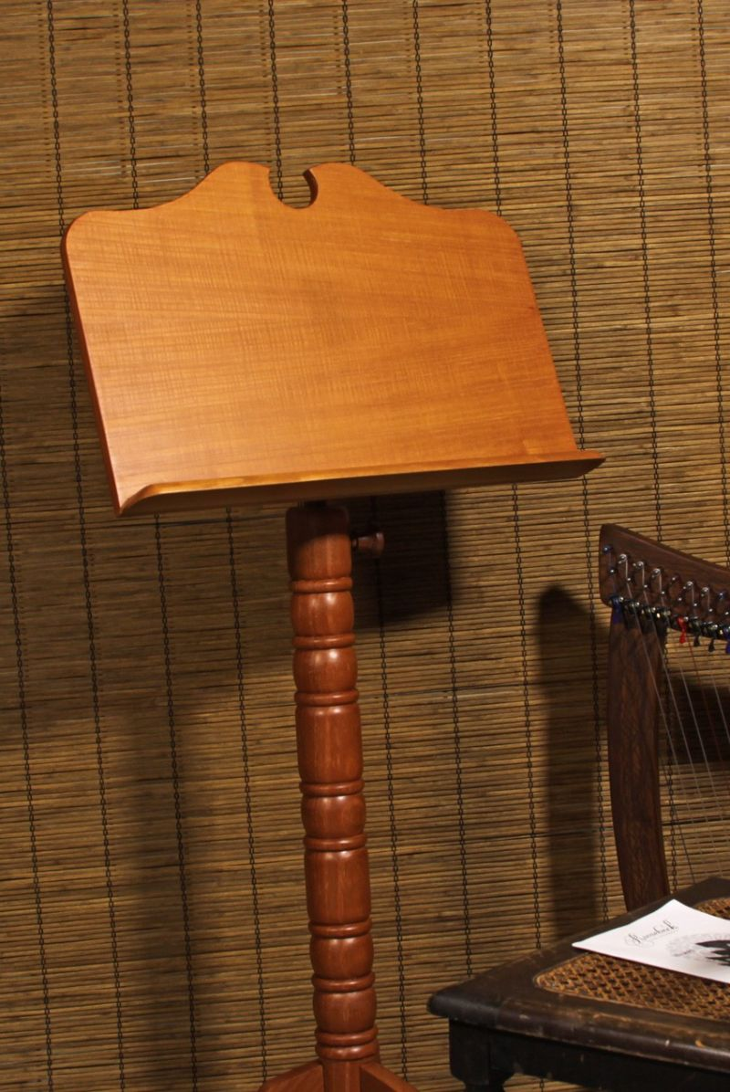 Roosebeck Single Tray Boston Music Stand - Red Cedar