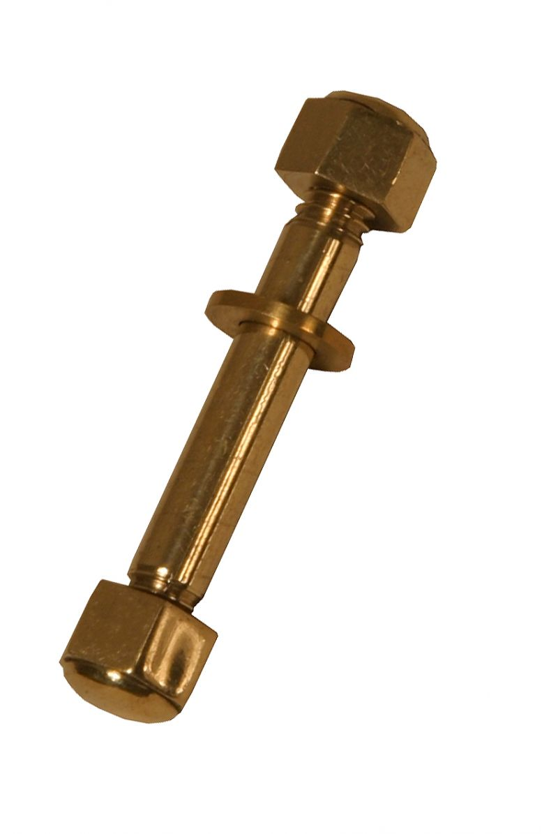 Roosebeck Small Brass Nut And Washer For Dhst Dulcimer Stand