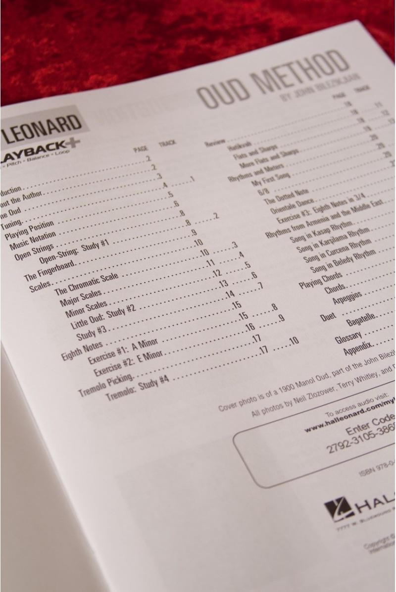 Hal Leonard Oud Method Book And Audio By J Bilezikjian