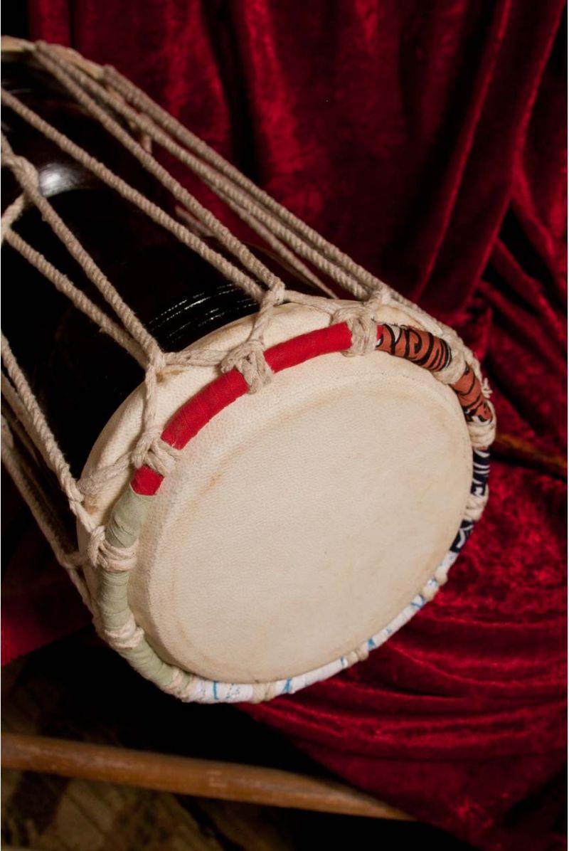 "Banjira Hudak Deluxe Talking Drum 8""X16"""
