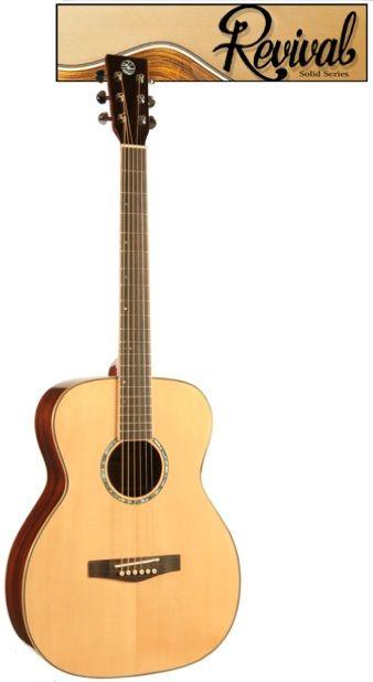 """Revival Mahogany """"00"""" Thin Body Guitar"""