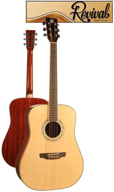 Revival Sitka Spruce Mahogany Dreadnought Guitar