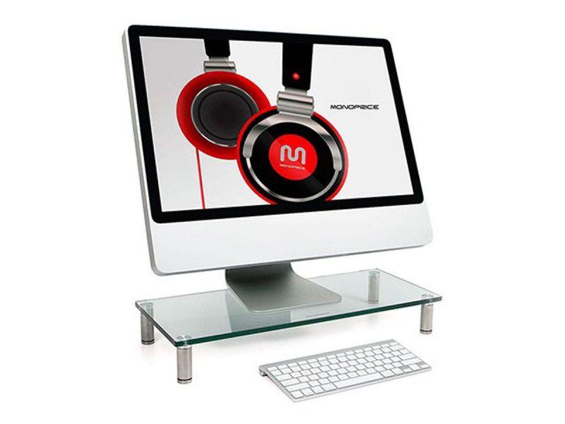 Workstream By Monoprice Multi Media Desktop Monitor Stand 22In X 9.5In