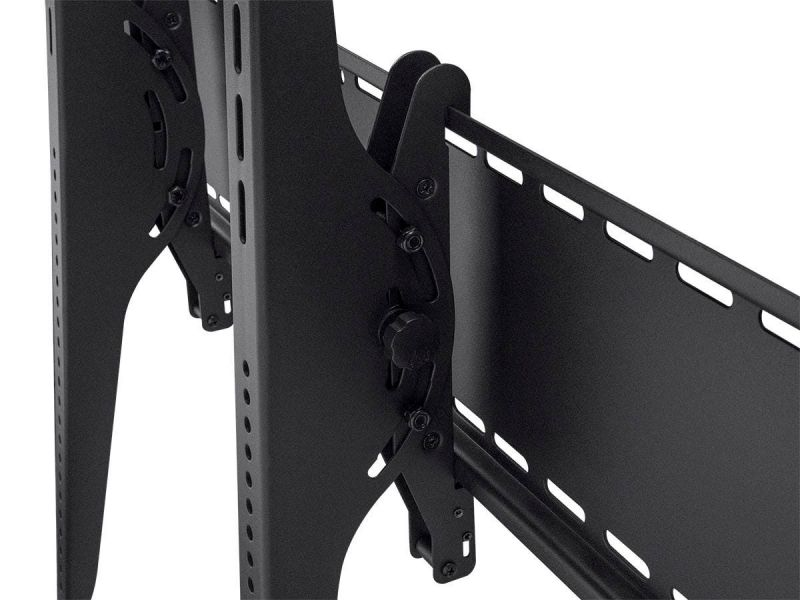 Monoprice Commercial Series Extra Wide Tilt Tv Wall Mount Bracket For Led Tvs 60in To 100in, Max Weight 220 Lbs., Vesa Patterns Up To 1000x800, Works With Concrete & Brick, Ul Certified
