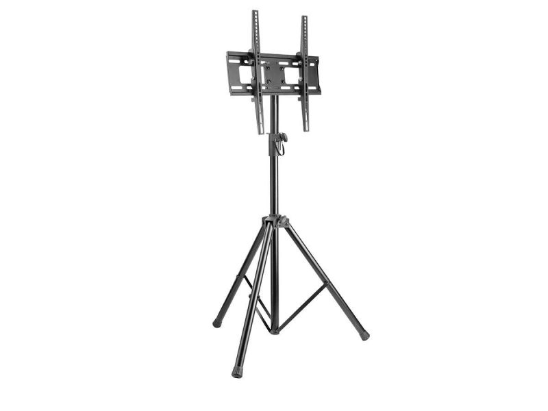 Monoprice Commercial Series Mobile Tripod Tilt Tv Wall Mount Bracket Stand - For Led Tvs 32in To 55in, Max Weight 77 Lbs., Vesa Patterns Up To 400x400