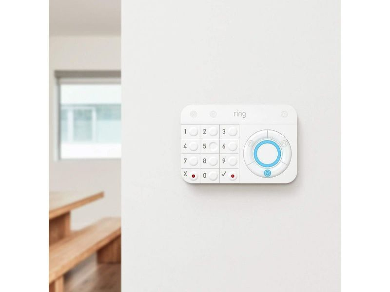 Ring Alarm – Home Security System With Optional 24/7 Professional Monitoring No Contracts 5 Piece Kit – Works With Alexa