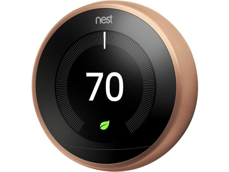 Nest Learning Thermostat - 3Rd Generation, Copper - T3021us