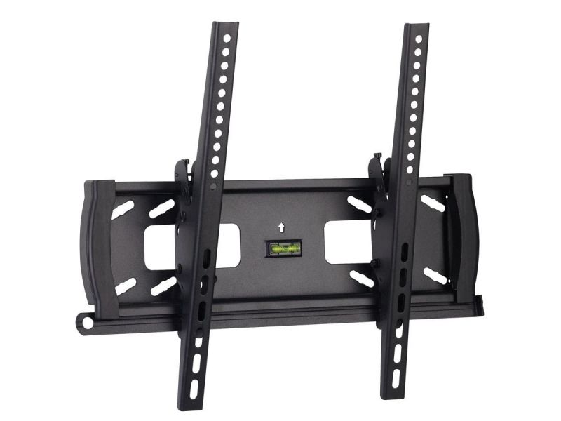 Monoprice Commercial Series Anti-Theft Tilt Tv Wall Mount Bracket For Led Tvs 32In To 55In, Max Weight 99 Lbs., Vesa Patterns Up To 400X400, Security Brackets, Ul Certified
