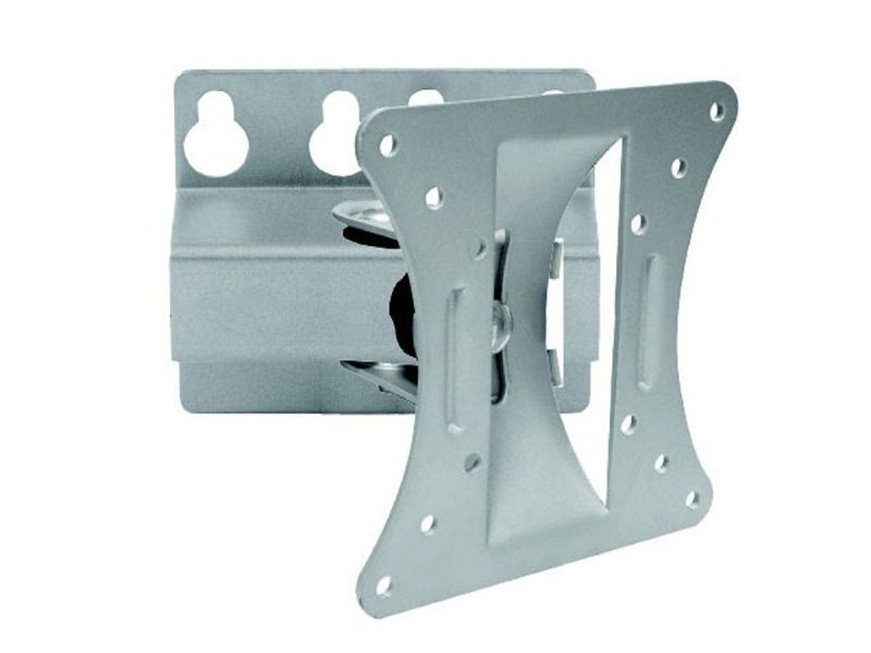 Monoprice Tilt Tv Wall Mount Bracket, For Tvs 13In To 27In, Max Weight 66Lbs, Vesa Patterns Up To 100X100, Works With Concrete And Brick