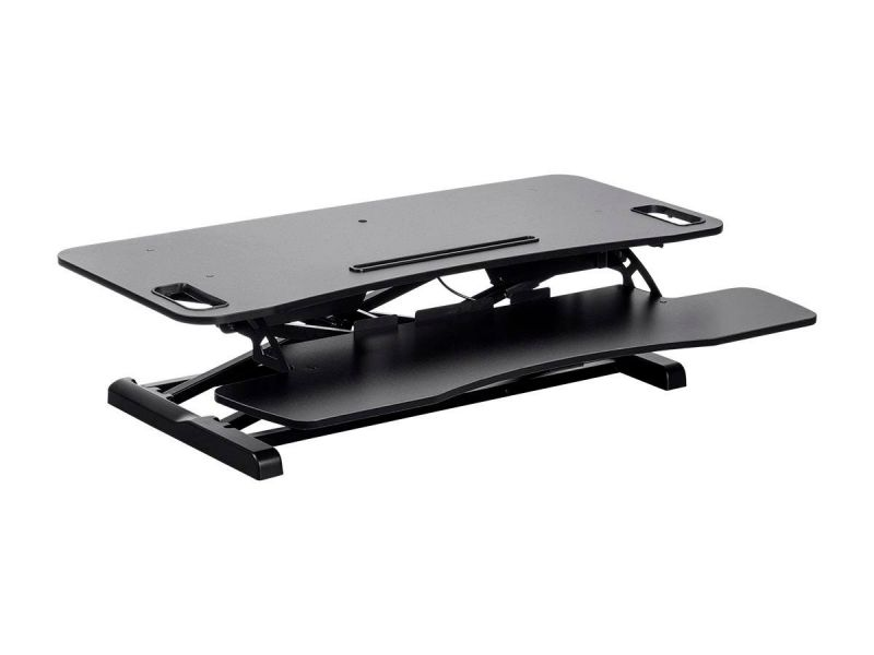 Workstream By Monoprice Sit-stand Compact Workstation Desk Converter, 37in