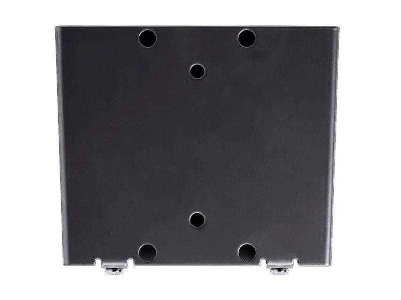 Monoprice Slimselect Series Ultra Low Profile Fixed Tv Wall Mount Bracket For Tvs 13in To 27in, Max Weight 66 Lbs., Vesa Patterns Up To 100x100