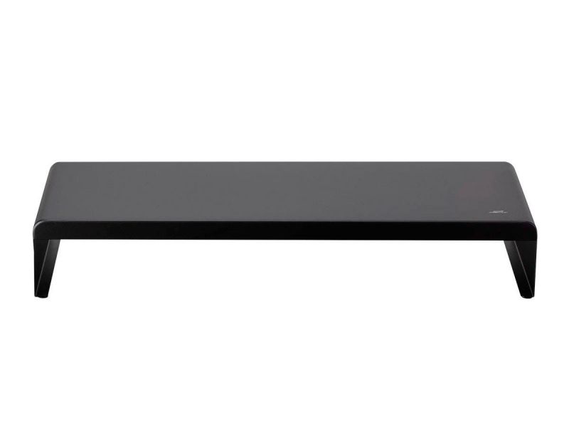 Workstream By Monoprice Metal Monitor Stand Riser, Black