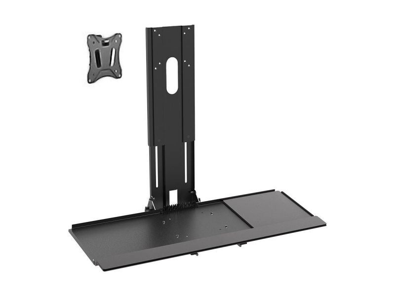 Workstream By Monoprice Workstation Wall Mount For Keyboard And Monitor