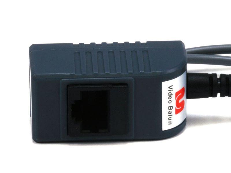 Mono Channel Passive Cctv Balun - Video/Audio/Power Over Cat5